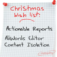 PPC Holiday Wish List
