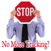 No More Tracking?