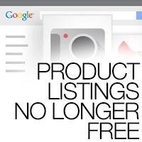Google Product Listings No Longer Free